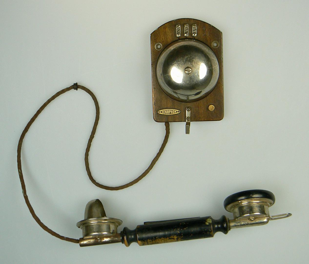 Haustelefon von Hekaphon, Czeija, Nissl & Co;