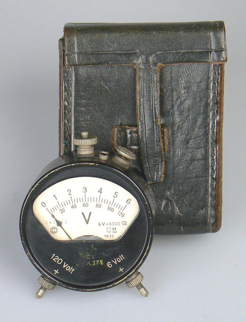 Taschen-Voltmeter von