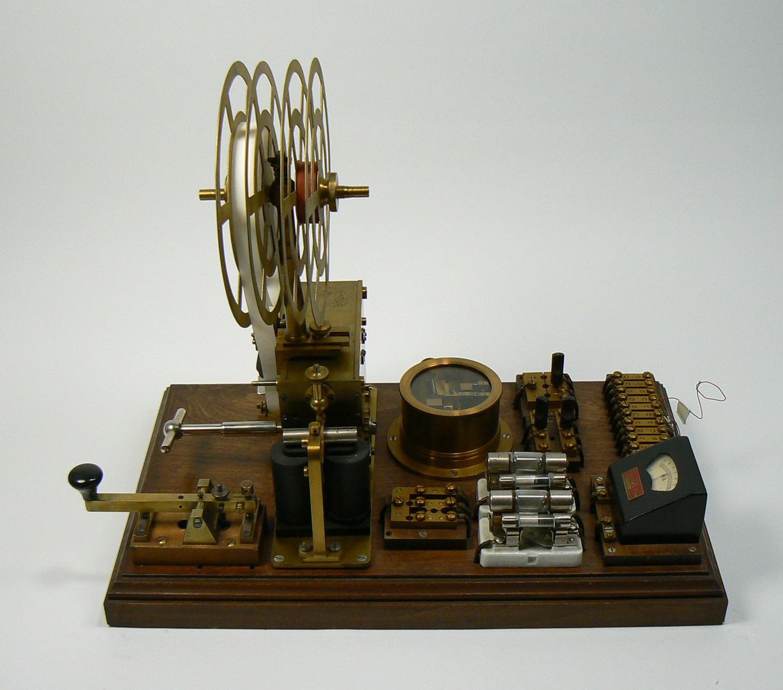 Russischer Morsetelegraph von