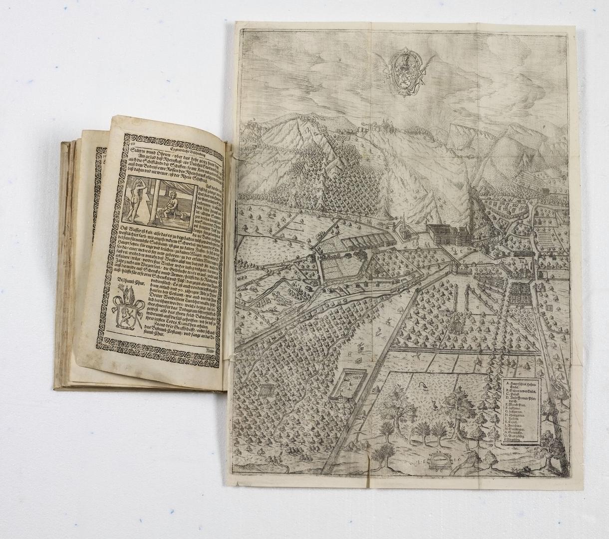 """""""Embser Chronik"""" von Johann Georg Schleh von Rottweyl (Autor), Bartholome Schnell (Drucker) 1580 - 1649"""